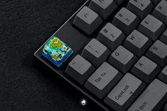 Jelly Key on a stealth black keyboard.