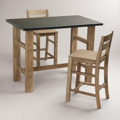 One of my favorite discoveries at WorldMarket.com: Brooklyn Work Table Collection