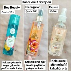 Body sprays I like to use. Look at the ready gratist with a discount . Beauty Care, Diy Beauty, Beauty Skin, Beauty Hacks, Bath Body Works, Face Care, Skin Care, Girl Life Hacks, Healthy Oils