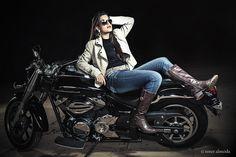 Underground girl II - Fernanda Martins #book #15anos #ensaio #fotografia #fashion #moto #motorcycle
