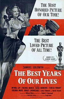 Best Years of Our Lives (1946) #19 - Drama ..... Competition: Henry V, It's a Wonderful Life	, The Razor's Edge, and The Yearling.