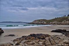 Playa de Rebordelo Costa da Morte  Galicia