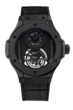 Hublot has launched a truly exceptional timepiece on the first day of BaselWorld Watch and Jewelry Show, which is opened today. Walker House, Hublot Classic Fusion, Hublot Watches, Timex Watches, Hublot King Power, Cool Watches, Man Watches, Unique Watches, Dream Watches