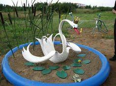Quiero tener este hermoso cisne