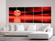 Sunset Paintings, Sunset Painting, Oil Painting, « MyStoreHome.com – Stay At Home and Shop