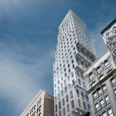 23 East 22nd Street by OMA