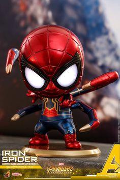 Avengers: Infinity War Cosbaby (S) Bobble-Head Series Iron Spider Avengers Cartoon, Marvel Cartoons, Marvel Avengers Movies, Marvel Art, Marvel Heroes, Marvel Characters, Baby Marvel, Chibi Marvel, Baby Avengers