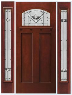 Therma tru doors entry patio light commercial doors - Jeld wen exterior doors with sidelights ...