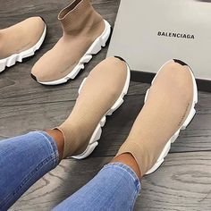 Balenciaga Trainers Sneakers Brown Shop the goods at brand name The New Arrivals. The Latest sneakers and shoes . Sneakers Mode, Latest Sneakers, Brown Sneakers, Shoes Sneakers, Brown Trainers, Vans Shoes, Sneakers Adidas, Latest Trainers, Sneakers Workout