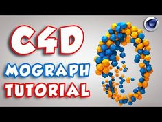 MoGraph Animation tutorial | C4D Animation Tutorial | Cinema 4D Particles - YouTube