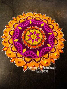 New flowers drawing simple cartoon Ideas Indian Rangoli Designs, Rangoli Designs Latest, Rangoli Border Designs, Small Rangoli Design, Rangoli Patterns, Rangoli Ideas, Rangoli Designs Images, Rangoli Designs With Dots, Beautiful Rangoli Designs