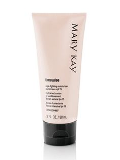 Mary Kay's Timewise moisturizer - mixed with foundation it provides a GREAT base for my makeup.