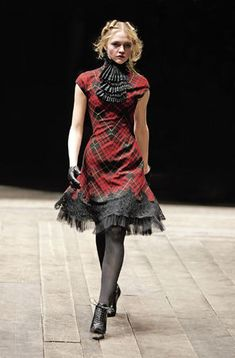 Alexander McQueen.  I really love this.