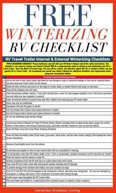 Rv Camping Checklist, Rv Camping Tips, Camping Stuff, Camping Items, Camping Products, Camping Spots, Camping Supplies, Camping Meals, Travel Trailer Living