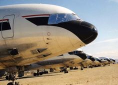 Some 10 Delta L-1011s were retired at Mojave with an additional allotment at Victorville, California. Delta was the world's largest operator of the Tri-Star and last frontline operator before the airline finally retired the last of the fleet in August 2001...