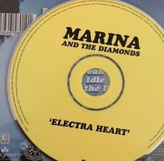 Electra Heart by Marina and The Diamonds (2012) [I don't know why it is yellow, but I'll take it.]