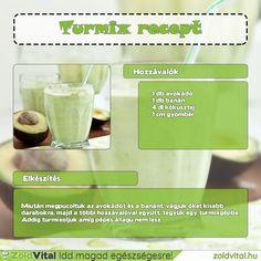 Avokádós zöld smoothie recept #zöldturmix