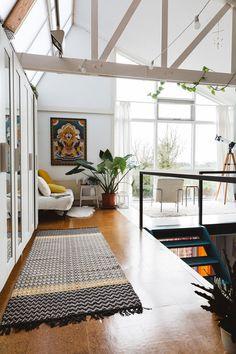 light-filled loft studio of ceramicist rena noordermeerof hear hear. / sfgirlbybay