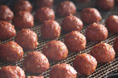 Recipe: BBQ Smoked Meatballs | All Things Barbecue - The Sauce