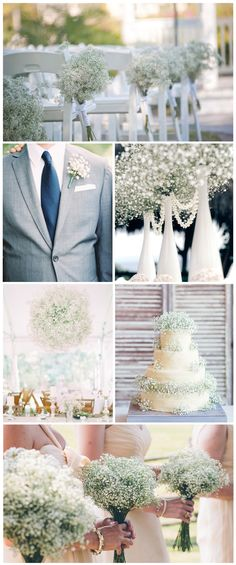 We noticed the increasing popularity of using just baby's breath as wedding flowers and decorations. These affordable wedding flowers are usually used as filler in bouquets and arrangements but they are versatile and beautiful all on their own, too. The best part is you can really get creative with this durable flower. We've gathered some […]