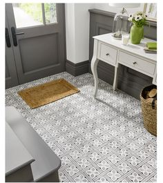 Laura Ashley Mr Jones floor tiles add that touch of class to any home from…