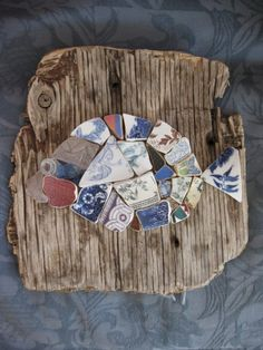 Pottery shards - By shelldesigns  on Etsy
