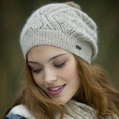 d36db7f4066 Pistil Nicolette F14 - This casually elegant slouchie has plenty of  feminine appeal. The yarn. Open WeaveFur Pom ...
