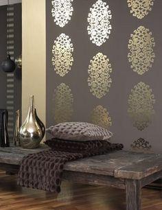 """Modern Furniture: modern wallpaper decor """" Bjoux """""""