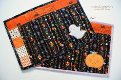 boo placemats for halloween by nanaCompany, via Flickr