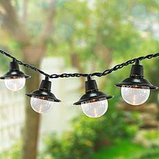 Soji solar string lights home sweet home pinterest solar indooroutdoor electric lantern string lights plow hearth aloadofball Choice Image