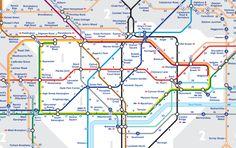 Nová mapka londýnského metra ukáže, kolik minut zabere překonat vzdálenost mezi stanicemi pěšky-Foto: © Transport for London