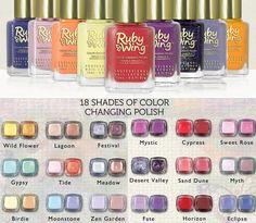 #Colorchanging #nailpolish Ruby Wing