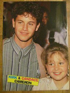 Candace cameron and kirk cameron siblings
