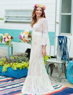 14 Vestidos de novia mexicanísimos que deberías considerar el día de tu boda ⋮ Es la moda