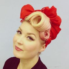 pin up updo with a modern update