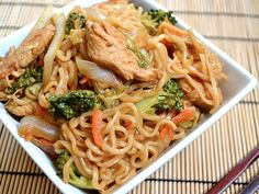 11. Chicken Yakisoba | Community Post: 19 Chicken Recipes For Even The Pickiest Eater