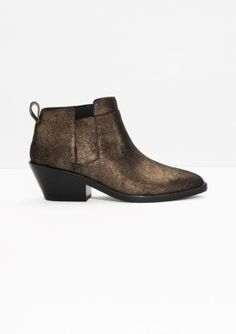 & Other Stories   Low Shaft Boots