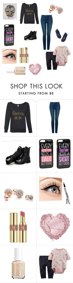 """Taking Holly to my office to decorate it a bit"" by bellzellz ❤ liked on Polyvore featuring NYDJ, Sunsteps, JFR, GUESS, Luminess Air, Yves Saint Laurent and Essie"