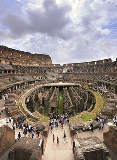 Amazing Wonder, Inside the Colosseum ~ Rome, Italy