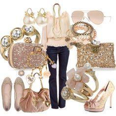 pink, gold & sparkly!  LOVE IT!!