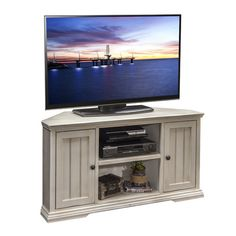 58 inch Driftwood Wood Highboy Fireplace TV Stand Home