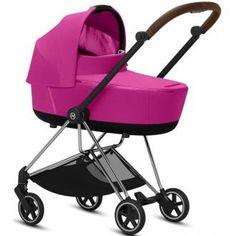 """Der Mios ist ein """"Small Wonder"""" dank der geringen Breite von 50 cm ist er der Stadtkinderwagen. Das kompakte Design wird durch smarte Funktionen und höchsten Komfort abgerundet. Das Gestell bietet zusätzlich ein 4-in-1 Reisesystem. Baby Center, Komfort, Pink Purple, Baby Strollers, Fancy, Design, Kids Wagon, Baby Prams"""