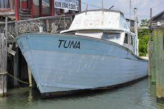 Cape May Fishing Boat Tuna