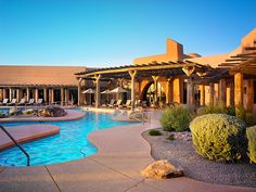 7 Must-Visit Desert Hot Spots | Pictured here: the Aji Spa pool at Sheraton Wild Horse Pass | Eco Travel | Organic Spa Magazine