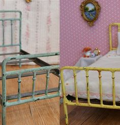 Newborn Photo Prop Bed Antique Style Iron Bed por dreamcometruebeds