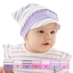 #Kopftuch #Dreiecktuch #Stirnband #Mütze #Schirmmütze für #Mädchen #Baby #Kinder…