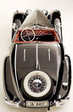1936 Mercedes-Benz Von Krieger 540K Special Roadster Classic Woodie