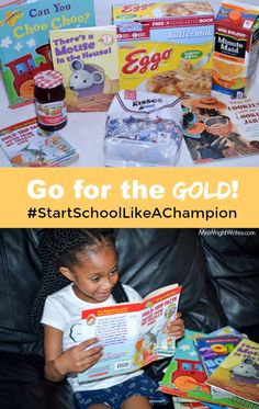 Get the school year off to a great start with lots of reading! Find fun books for your children, and have delicious food as your family looks ahead to school starting.