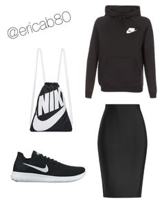 Modest Workout Outfit by ericab80 on Polyvore featuring polyvore fashion style NIKE Roland Mouret clothing