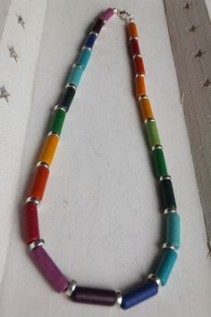 Ketten mittellang - Kette Halskette - ein Designerstück von Traumschmuck-Purpurrot bei DaWanda